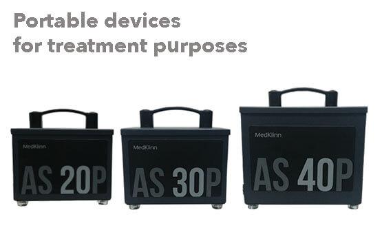 Medklinn portable device